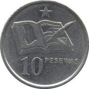 10 pesewas -  revers