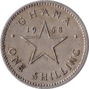1 shilling – revers