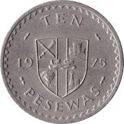 10 pesewas – revers