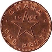 1 penny – revers