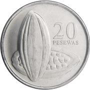 20 pesewas -  revers