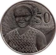 50 pesewas – revers