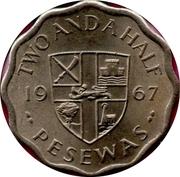 2½ pesewas – revers