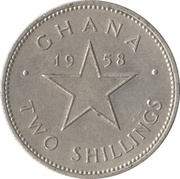 2 shillings – revers