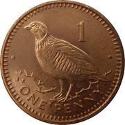 1 penny Elizabeth II (3ème effigie) – revers