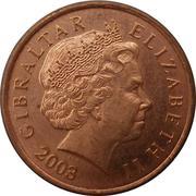 1 penny Elizabeth II (4ème effigie) – avers