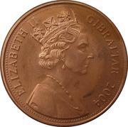1 penny - Elizabeth II (Occupation britannique) – avers