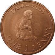 1 penny - Elizabeth II (Occupation britannique) – revers