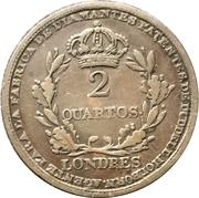 2 Quartos (Richard Cattons) – revers