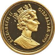 1/5 Crown - Elizabeth II (Général Sikorski) – avers