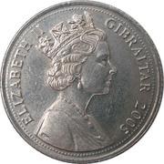 10 pence Elizabeth II (3ème effigie) – avers