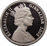 1 Crown-Elizabeth II (Royal Ascot) -  avers