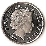 5 pence  Elizabeth II (4ème Effigie) – avers