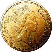 2 pence Elizabeth II (3ème effigie) – avers