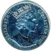 1 crown Princesse Diana -  avers