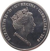 10 pence Elizabeth II (4th portrait) -  avers