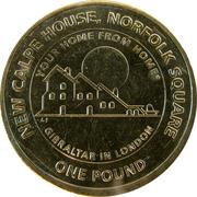 1 livre Elizabeth II (New Calpe House) -  revers