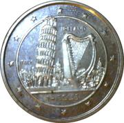 14 ECUS - Elizabeth II (Leaning Tower - Irish Harp) – revers