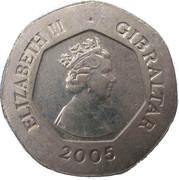 20 pence (Clés de la ville) -  avers