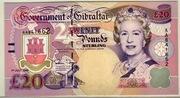 Twenty Pounds Sterling – avers