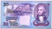 Twenty Pounds Sterling – revers