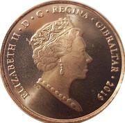 2 pence - Elizabeth II (Jeux de l'île 2019) – avers