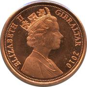 1 penny - Elizabeth II (3e effigie, 2e type) – avers