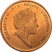 2 pence Elizabeth II (Anniversaire du référendum) – avers