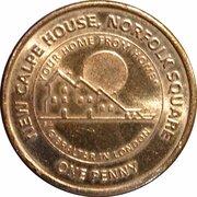 1 penny Elizabeth II (New Calpe House) – revers