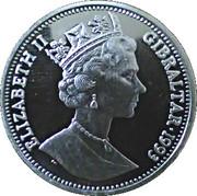 14 ECUS - Elizabeth II (Sir Winston Churchill; Piedfort) -  avers