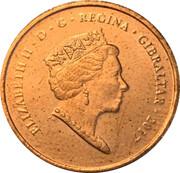 1 penny Elizabeth II (Anniversaire du référendum) – avers