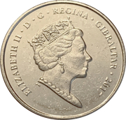 5 pence (Anniversaire du referendum) – avers
