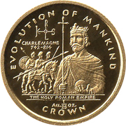 1/25 Crown - Elizabeth II (Holy Roman Empire) – revers