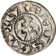 Denier - Geoffroy II de Donzy et successeurs -  avers