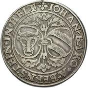 1 Thaler - Johann of Pernstein – avers