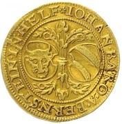 1 Ducat - Johann of Pernstein -  avers