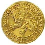 1 Ducat - Johann of Pernstein – revers