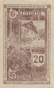 20 Heller (Goisern) -  avers