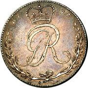 ½ Ackey - George III – avers