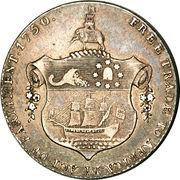 ½ Ackey - George III – revers