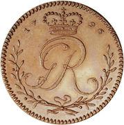 1 Tackoe - George III (essai) – avers