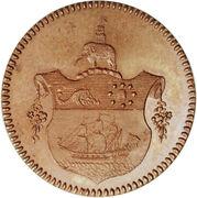 1 Tackoe - George III (Pattern strike) – revers