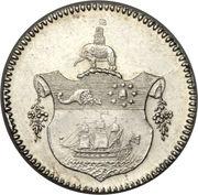 1 Tackoe - George III – revers