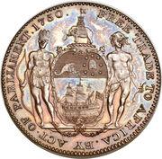 1 Ackey - George III (essai) – revers