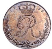 ½ Ackey - George III (essai) – avers