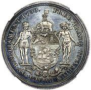 1 Ackey - George III – revers