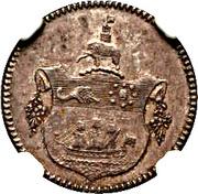 1 Tackoe - George III -  revers
