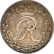 ¼ Ackey - George III – avers