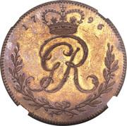1 Ackey - George III -  avers