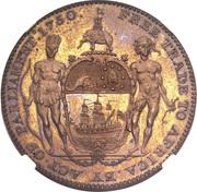 1 Ackey - George III -  revers